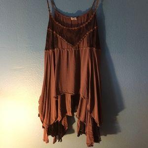 Butterfly Hemmed Dress